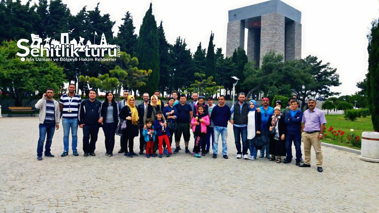 Diyarbakır Çıkışlı Çanakkale Şehitlik Gezisi