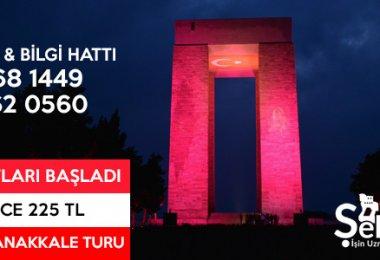 İstanbul Çıkışlı Çanakkale Şehitlik Turu