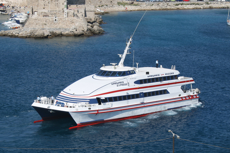 Marmaris – Rodos Adası Feribot Seferleri