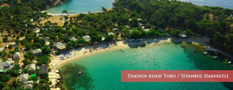 Thassos Adası Turu / İstanbul Hareketli