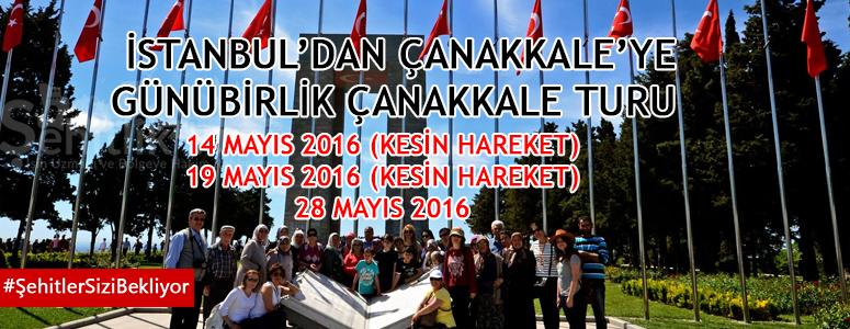 İstanbul Hareketli Günübirlik Çanakkale Gezisi